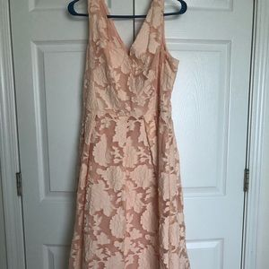 Like new Nanette Lepore pink lace dress
